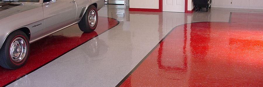 Цветные бетонные полы