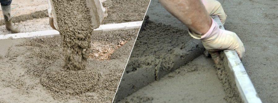 Разница между товарным бетоном и бетонной стяжкой.
