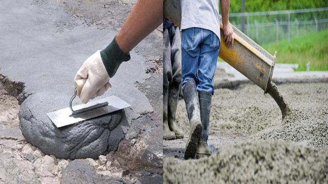 Бетон, цемент и цементный раствор —  в чем разница?