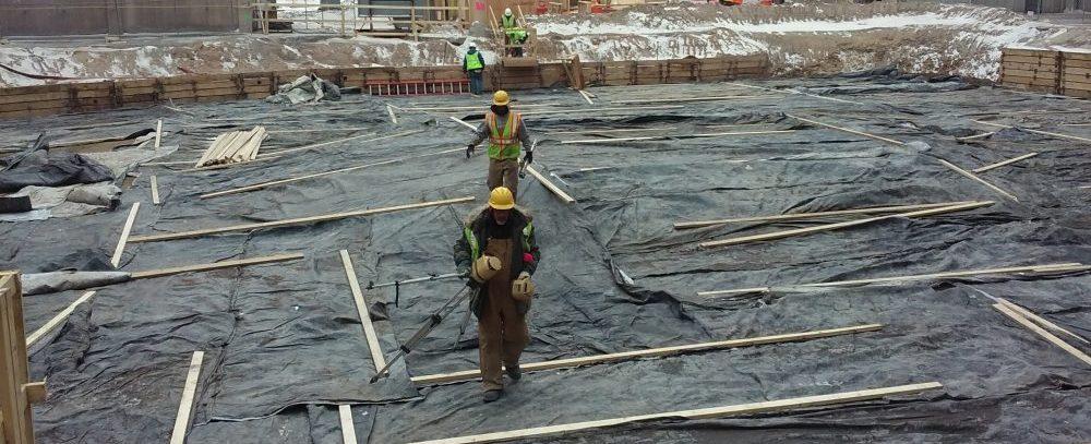 время набора прочности бетона, защита бетона