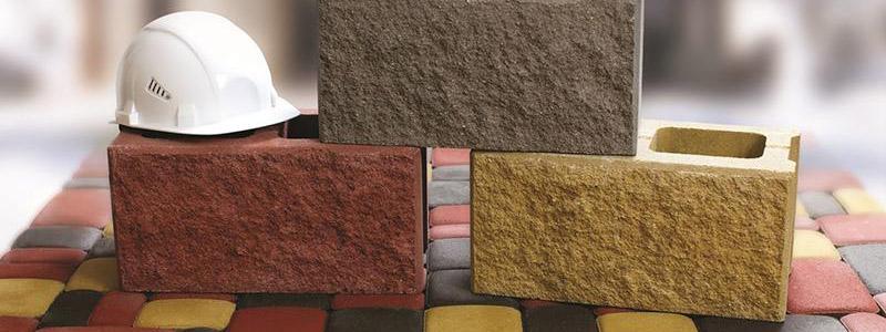 Забор и ограждение - строительный блок из бетона
