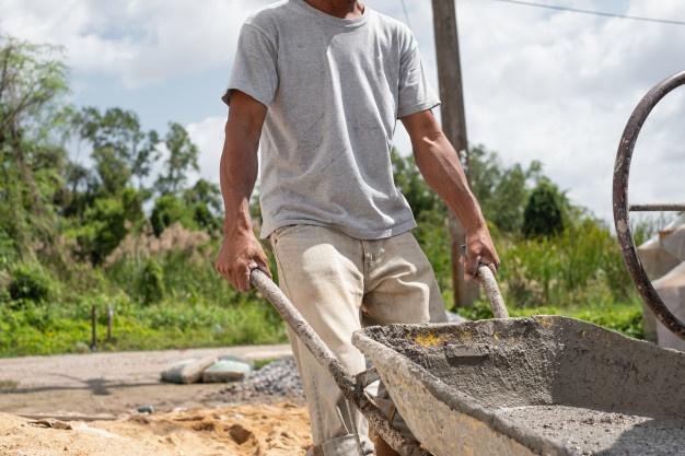 Укладка бетона своими руками