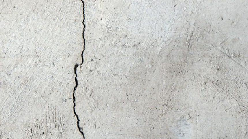Как предотвратить растрескивание бетона?