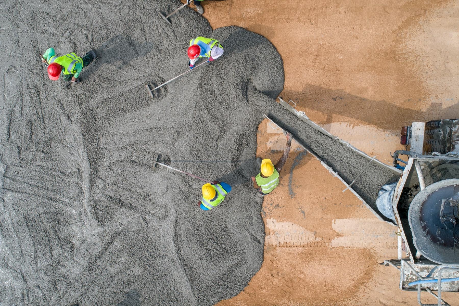 укладка бетона при жаре