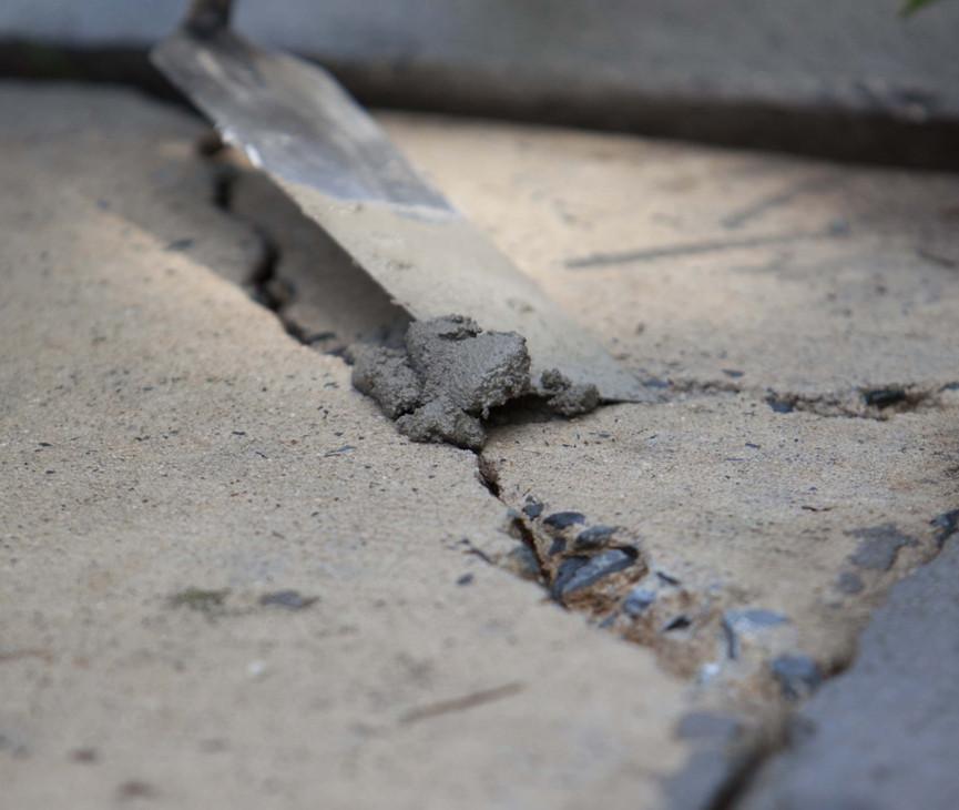 ремонт тріщин у бетоні