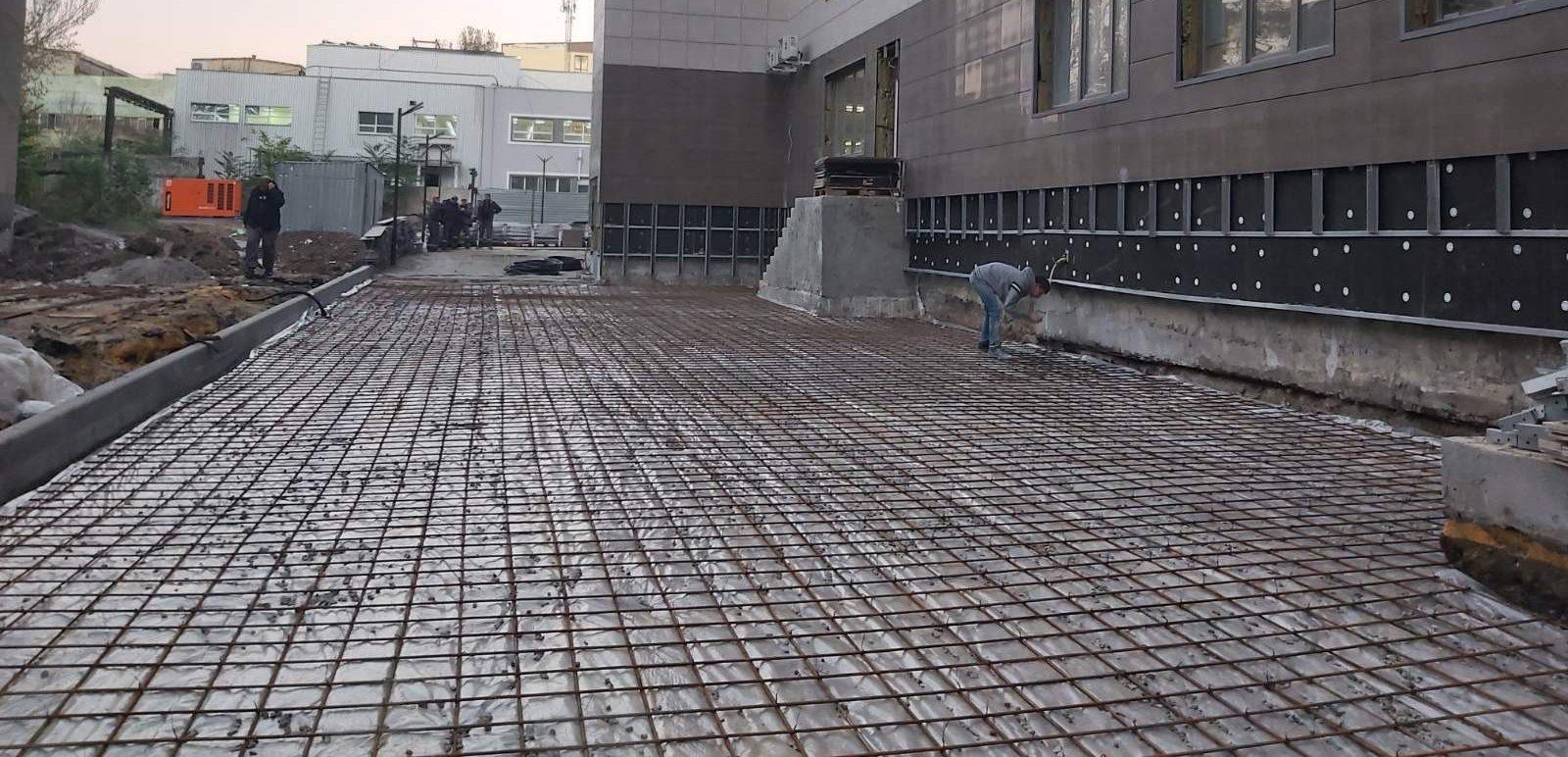Зміцнюючі добавки в бетоні